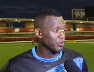 Jeferson, goleiro do CSA (Foto: Denison Roma / GloboEsporte.com)