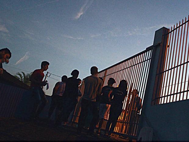 Ocupação em escola de Juruaia, MG: Sul de MG registra nesta terça-feira (25) ocupações em 13 escolas de 9 cidades (Foto: Ocupação Escola Estadual Eduardo Senedese/Juruaia)