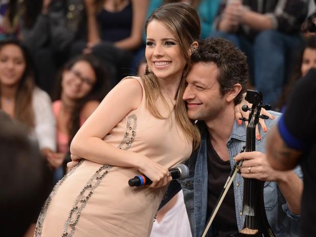 Casados desde 2008, Sandy e Lucas Lima são pais do pequeno Theo (Foto: Marcos Mazini/Gshow)