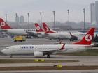 Nenhuma bomba é encontrada em avião turco desviado da rota