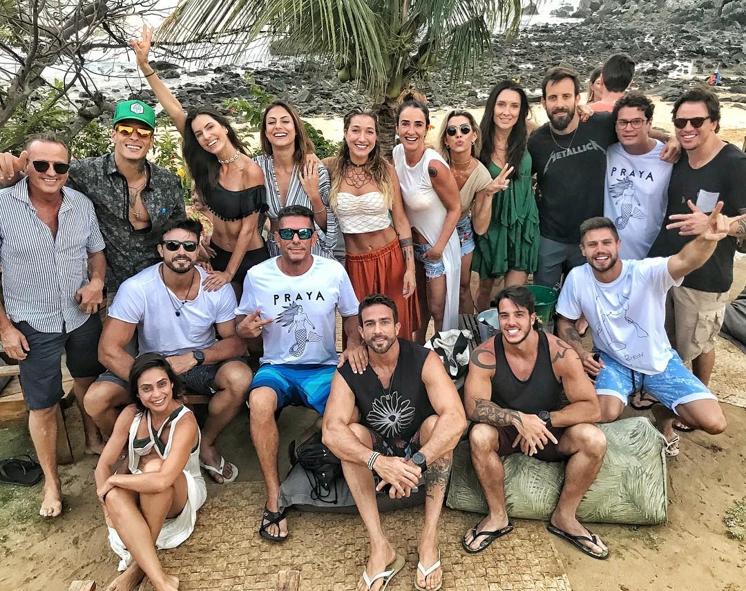 Gabriela Pugliesi comemora 32 anos em Fernando de Noronha (Foto: Reprodução/Instagram)