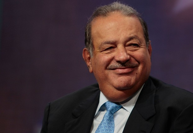 O bilionário mexicano Carlos Slim, da America Móvil (Foto: Getty Images)