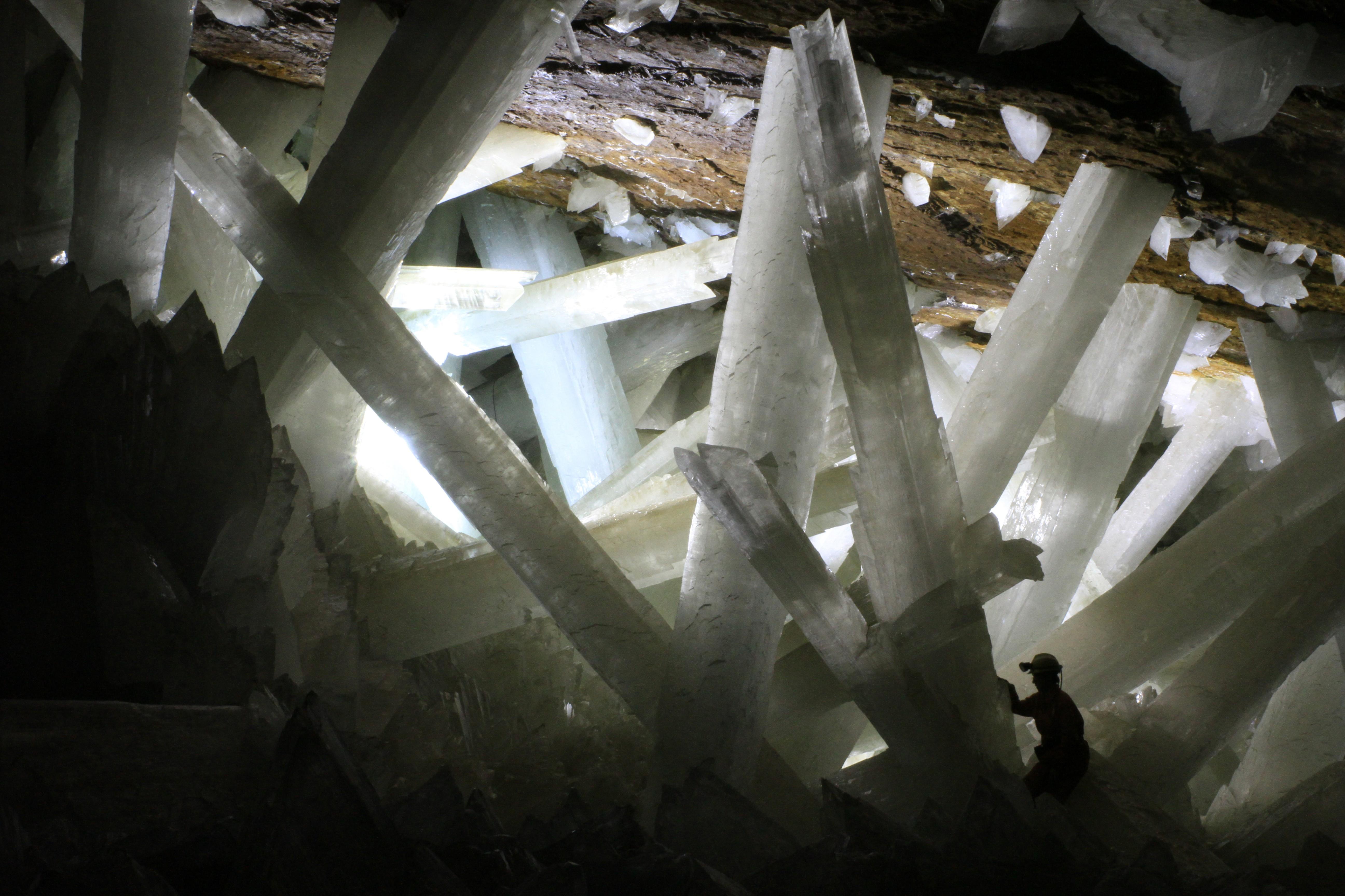 a caverna de cristais (Foto: wikimedia commons)