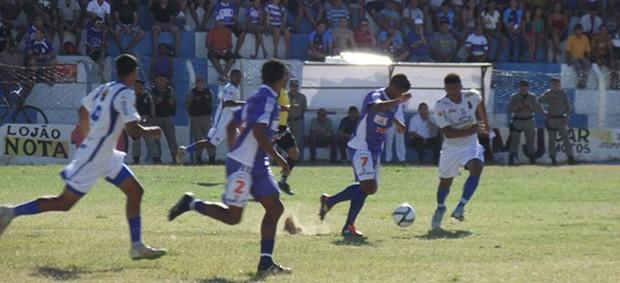 Cruzeiro-PB 4 x 0 Desportiva Guarabira, no Estádio Zezão (2ª Divisão do Paraibano) (Foto: Silas Batista / Globoesporte.com/pb)