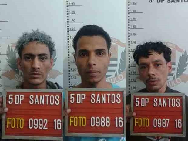 Trio conseguiu fugir do IML durante exame de corpo de delito (Foto: Divulgação/Polícia Civil)