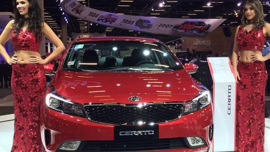 Kia mostra SUV híbrido Niro e Cerato 'mexicano' no Salão do Automóvel