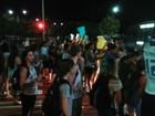 Protesto após atropelamento de estudante fecha avenida em Vitória
