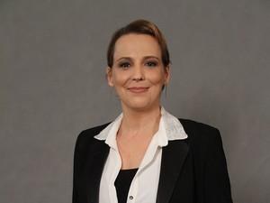 Ana Beatriz Nogueira na coletiva de 'Saramandaia' (Foto: Raphael Mesquita / Foto Rio News)