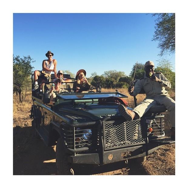 Giovanna Ewbank posta foto  na África do Sul (Foto: Reprodução / sabisabi.com)