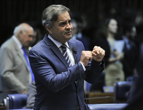 O senador Aécio Neves (PSDB-MG) (Foto: Moreira Mariz/Agência Senado)