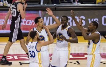Máquina de pontos: Warriors podem ter novo recorde se baterem os Spurs