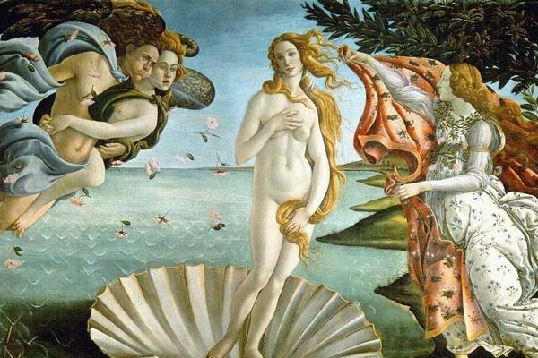 O Nascimento de Vênus, de Sandro Botticelli (Foto: Reprodução/Instagram)