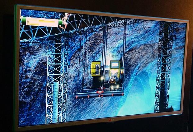 """""""Shiny"""" também foi apresentado no evento da Microsoft (Foto: Bruno Araujo/G1)"""
