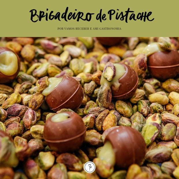 Receita de brigadeiro de pistache fácil (Foto: Julio Acevedo )
