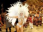 Vivi Araújo desfila como rainha  do Salgueiro: 'Momento que mais espero'