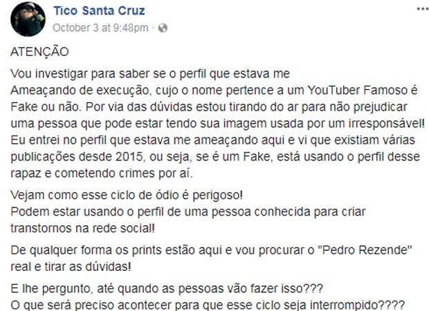 Tico Santa Cruz (Foto: Reprodução)