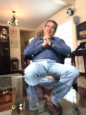 Antônio Roque Citadini, candidato à presidência do Corinthians (Foto: Carlos Augusto Ferrari)