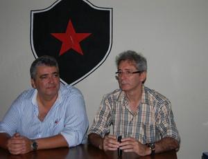 nelson lira e ariano wanderley (Foto: Lucas Barros / Globoesporte.com/pb)