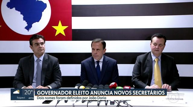 Doria anuncia Gilberto Kassab como futuro secretário da Casa Civil