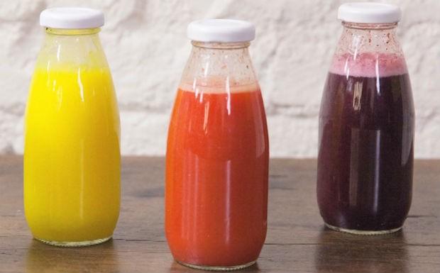 Suco energizante de morango com gengibre (Foto: Divulgao/GNT)
