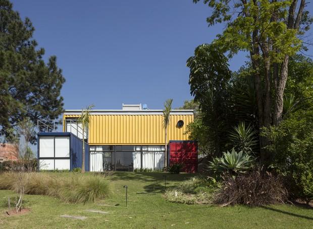 casa_contêiner (Foto: Divulgação/Plínio Dondon)