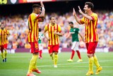 Lionel Messi Neymar barcelona gol athletic de Bilbao