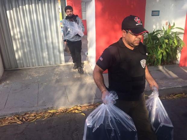 Operação está sendo deflagrada em vários bairros de São Luís (Foto: Sidney Pereira/TV Mirante)