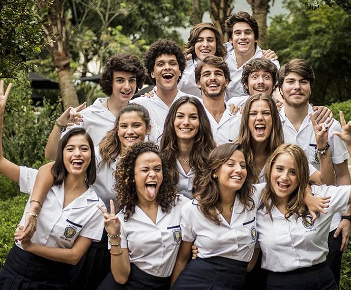 Colégios como o Pedro II são a inspiração do uniforme do Leal Brazil (Foto: João Cotta/Gshow)