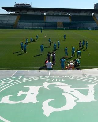 chapecoense apresenta arena condá (Foto: Laion Espíndula)