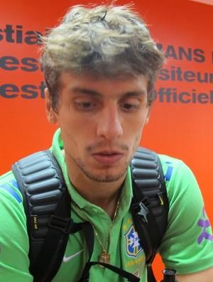 Rodrigo Caio Brasil sub-23 (Foto: Felipe Schmidt)