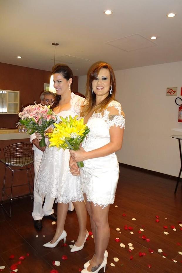 Casamento da ex-bbb Angélica Morango  (Foto: Reprodução / Facebook)