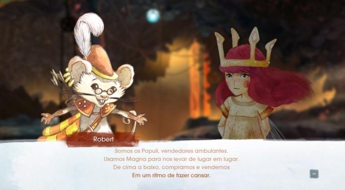 Child Of Light: todos os personagens falam por meio de rimas (Foto: Reprodução/Paulo Vasconcellos)