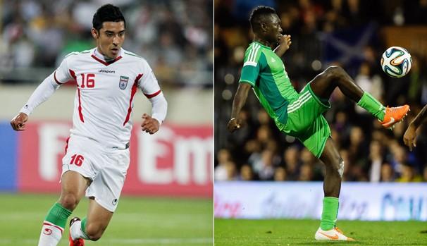 Globo transmite partida entre Irã x Nigéria nesa segunda, dia 16 (Foto: Divulgação / AFP)