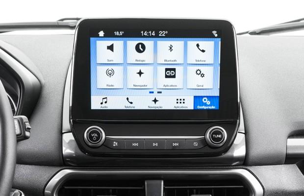 Central multimídia da Ford Sync 3 (Foto: Divulgação)