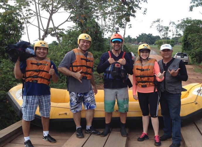Aventura não pode faltar na série 'Rotas Naturais', e a nossa equipe encarou o desafio (Foto: Jota Manoel)