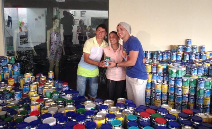 Osvaldo, Wesley Safadão (Foto: Arquivo pessoal)