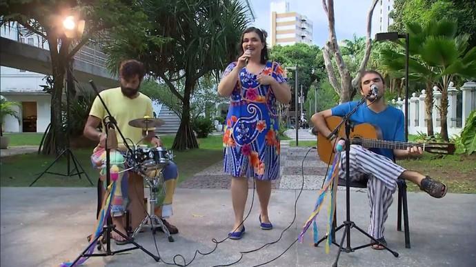Grupo Corrupio relembra cantigas de roda (Foto: TV Bahia)