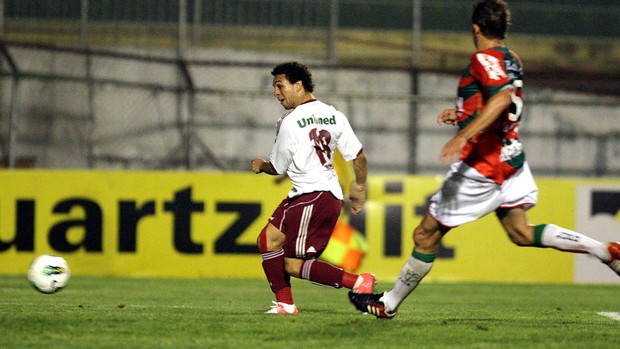 Wellington Nem, Portuguesa x Fluminense (Foto: Agência Photocamera)