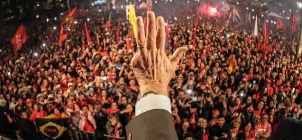 Curitiba - Brasil: O ex presidente Luiz Inácio Lula da Silva durante Ato jornada pela democracia em Curitiba  (Foto: Ricardo Stuckert/Fotos Públicas)