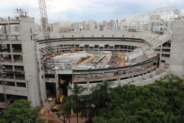 Arena Palestra Fevereiro 2013 (Foto: Divulgação/ArenaPalestra)