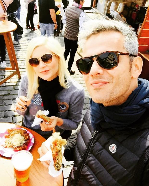 Otaviano Costa e Flavia Alessandra (Foto: Reprodução/ Instagram)