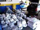 PM apreende carro com produtos contrabandeados do Paraguai em MS