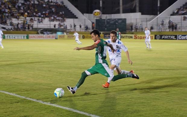 Rubinho - ABC x Luverdense (Foto: Augusto Gomes/GloboEsporte.com)