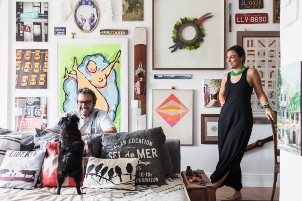 Rodolpho e Paula (Foto: Lufe Gomes / Editora Globo)