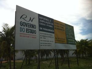 Com adequações, obra passou de R$ 2,7 mi para R$ 3,6 mi (Foto: Murilo Meireles/G1)