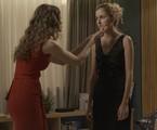 Maria Fernanda Cândido e Carol Duarte em 'A força do querer'   TV Globo