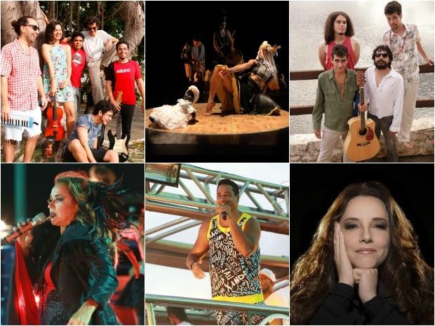Atrações deste fim de semana no Ceará (Foto: Divulgação)