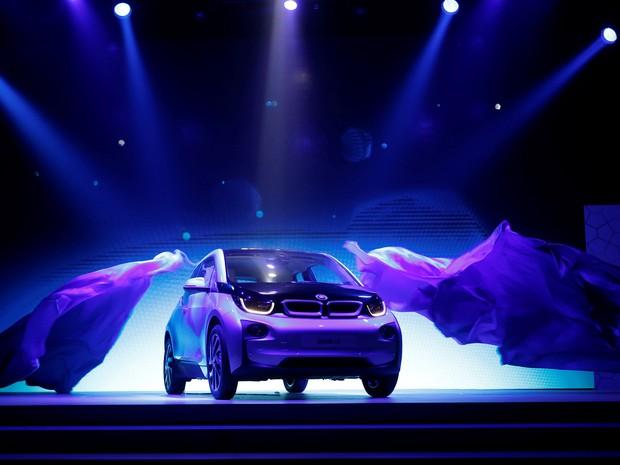 BMW i3 foi lançado em 2013 (Foto: REUTERS/Kim Kyung-Hoon)