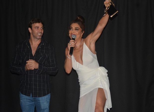 Marcelo Faria e Juliana Paes (Foto: Felipe Souto Maior/AgNews)