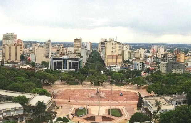 Praça Cívica é revitalizada em Goiânia (Foto: Paula Resende/ G1)